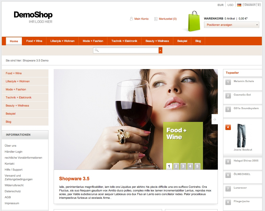 Online Shop vs. herkömmliches Ladenlokal
