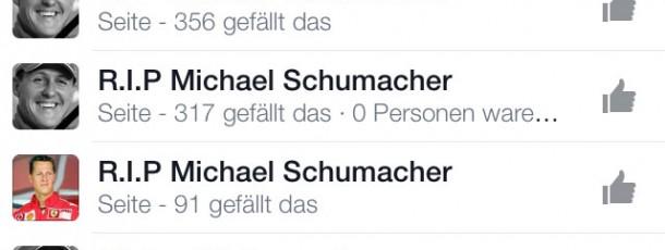 Social Media – wie pervers wird das noch alles? Aktuell zum Thema: #Schumi