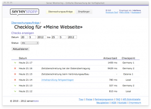 serverstate report Server Monitoring