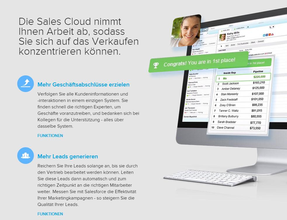 Salesforce CRM - mehr wie eine Kunden-Adressdatenbank