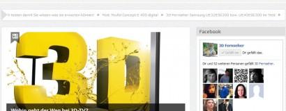 3D LCD TV – Das Online Magazin für 3D Fernseher