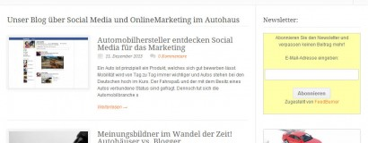 Social-Media-Autohaus.de – Online Marketing für das Autohaus
