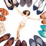 Frauen und Schuhe