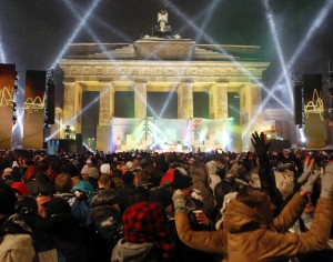 Silvesterparty Brandenburger Tor Berlin