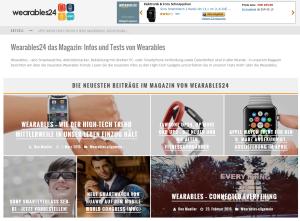 Wearables24 das Magazin  Infos und Tests von Wearables