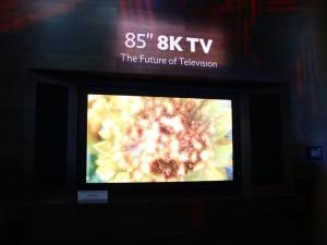 sharp 8k 3D Fernseher