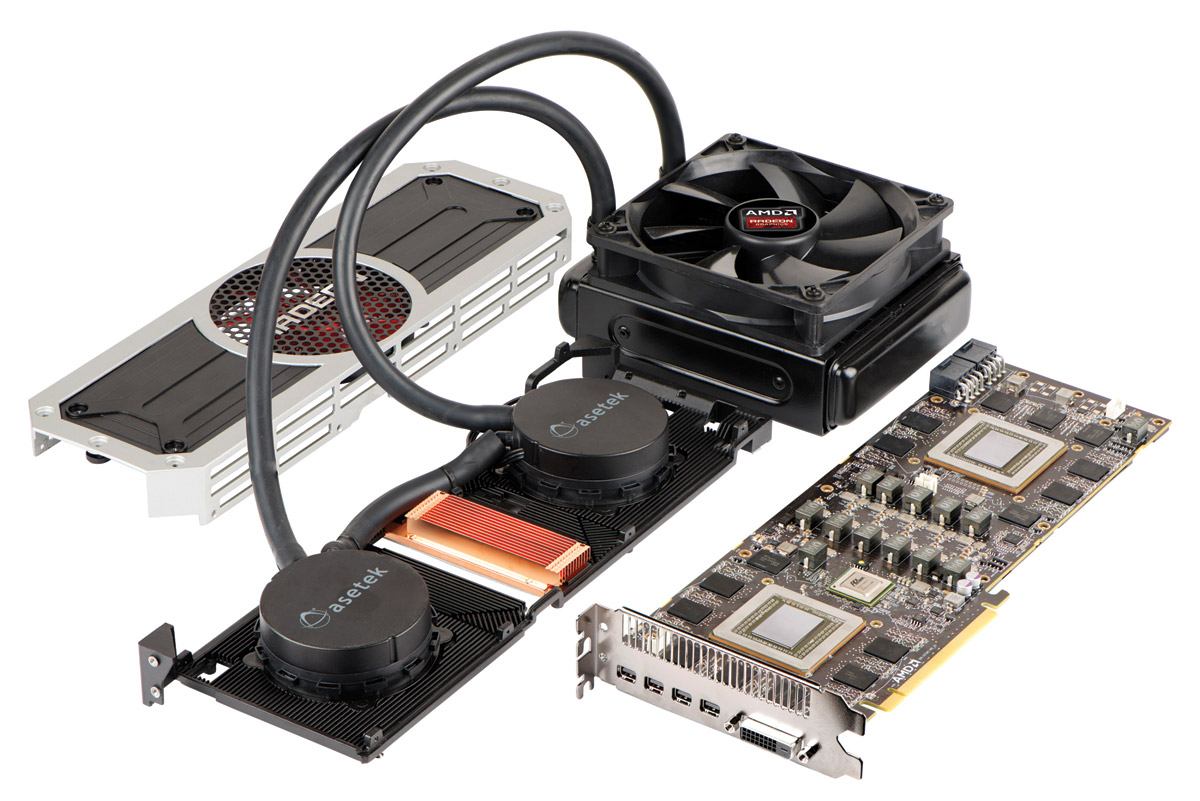 """4K-Grafikmonster Radeon R9 295X2: Die """"etwas"""" extreme Grafikkarte"""