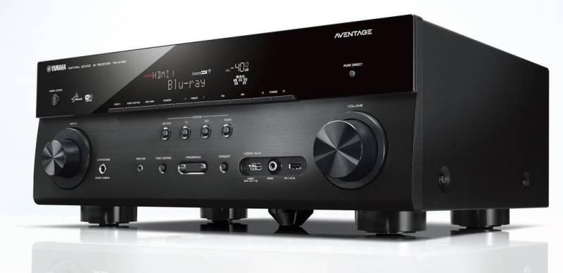Yamaha aventage rx a740 rx a840 4k av receiver for Yamaha tv receiver