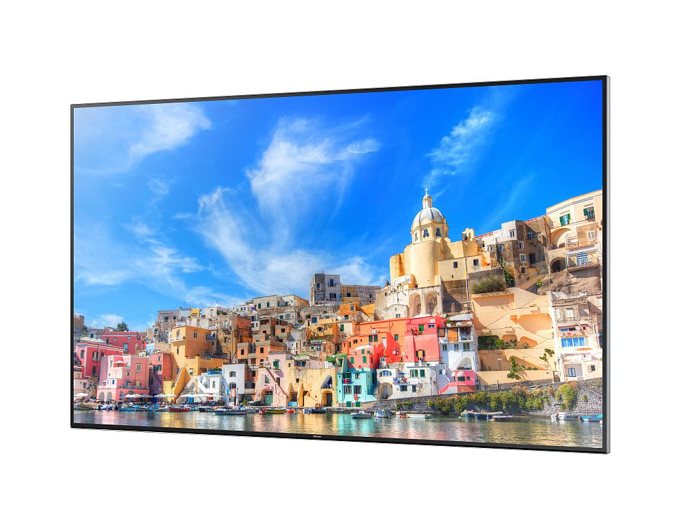 Samsung zeigt 85″ UHD Smart Signage Display QM85D