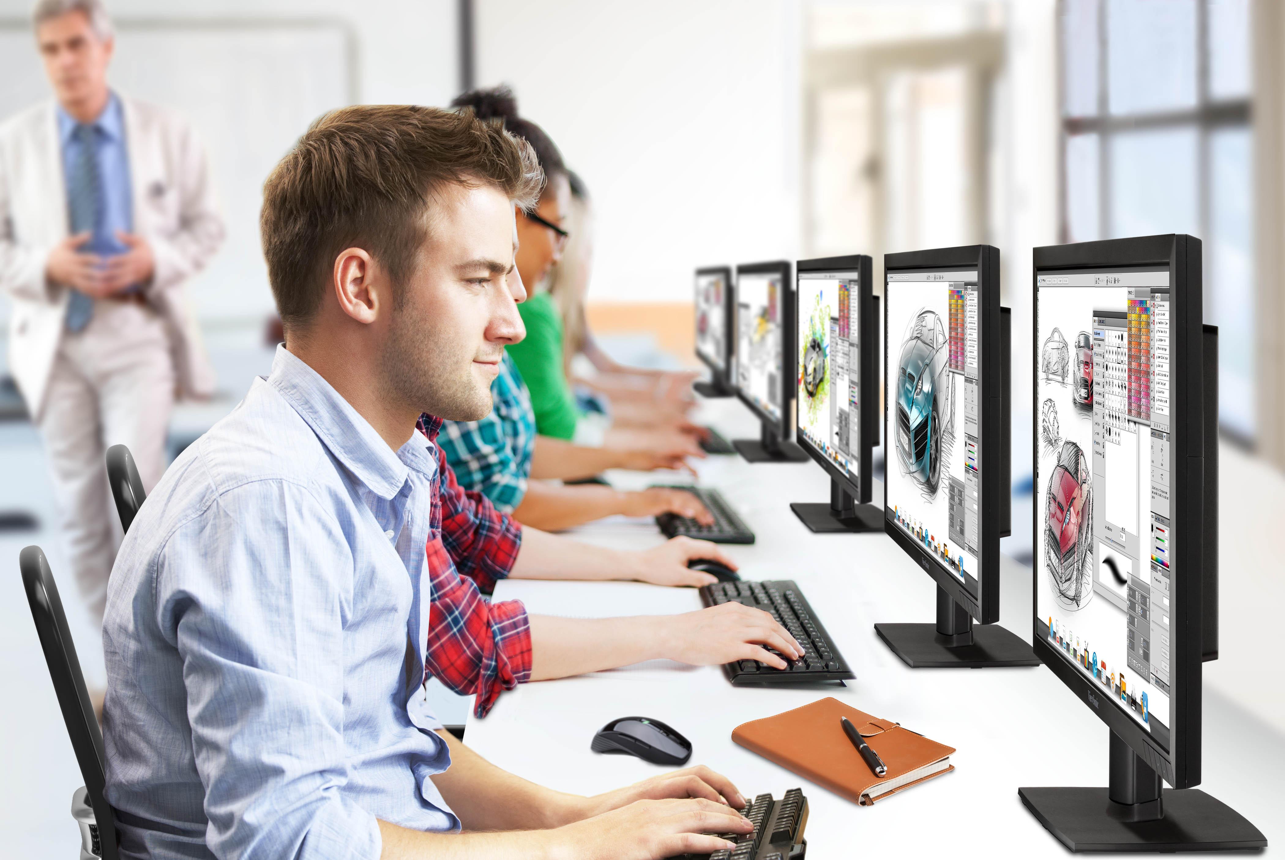 UHD-Monitore: Fokus auf Geräte mit 27- bis 32-Zoll