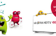LG Cashback Aktion: Bis zu 450 EUR bei LG UHD TV-Geräte sparen