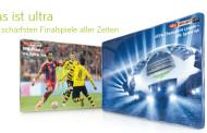 Sky produziert DFB-Pokalfinale 2015 in Ultra HD