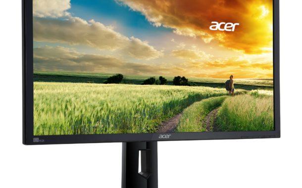 GŸünstiger UHD-Bildschirm füŸr BüŸroanwendungen: Acer CB281HK